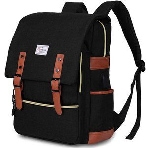 NWT. Laptop Backpack w/ Charging Port [B102]